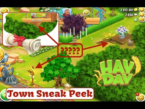 Hay Day March 2017 Update - Town Sneak Peek, Permits and Decoration