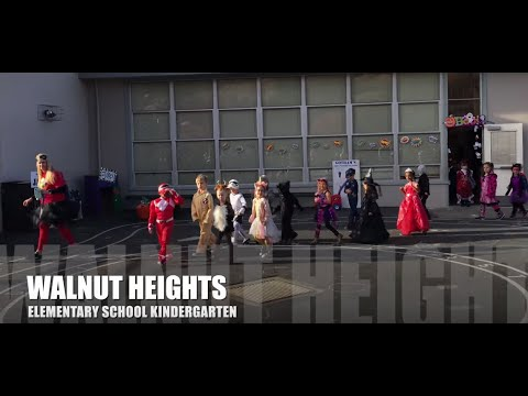 Halloween Kindergarten Parade, Walnut Heights Elementary School, 2018