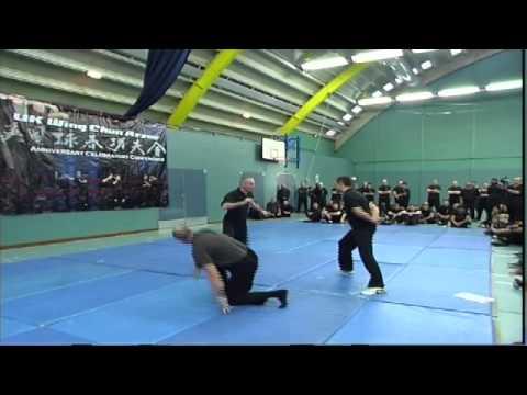Nick Martin Sifu Wing Chun Kicking Counter Attacks