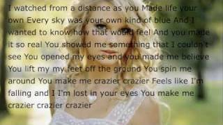 Taylor Swift Crazier- Karaoke and Lyrics!