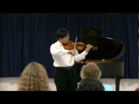 "Yu: ""Transformation"" for Solo Violin from the Mayflies Suite"