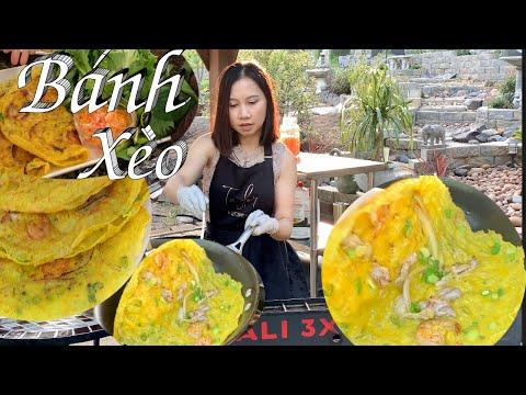 Bí Quyết Nhỏ Để Làm Bánh Xèo Thơm Ngon Lúc Nào Củng Giòn Ăn Hoài Không Ngán - Vietnamese Crepes