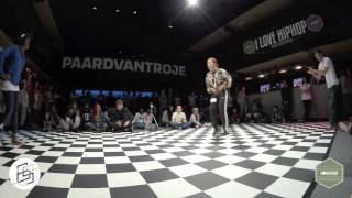 Bgirlsessions bgirl battle 1on1 - prelim - Angel vs Vanessa