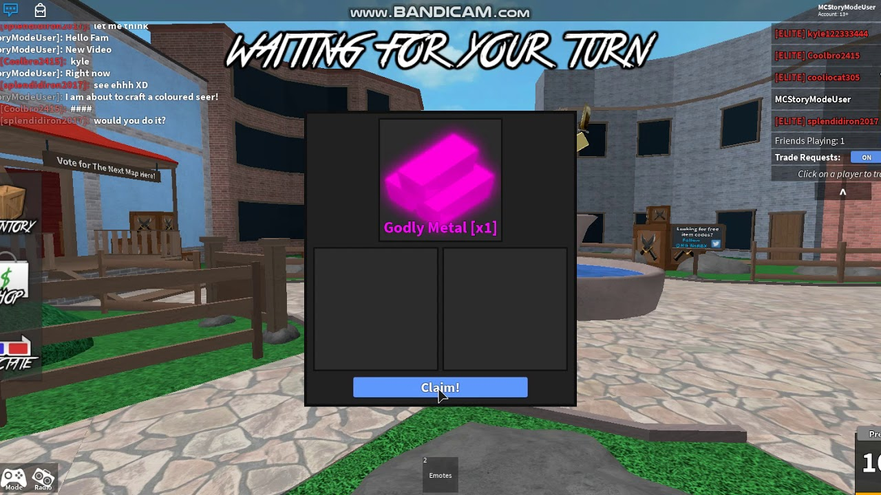 Roblox MM2: Obtaining A Coloured Seer - YouTube