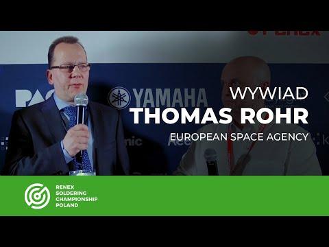 RSC 2018 - wywiad z Thomasem Rohr - European Space Agency - Europejska Agencja Kosmiczna