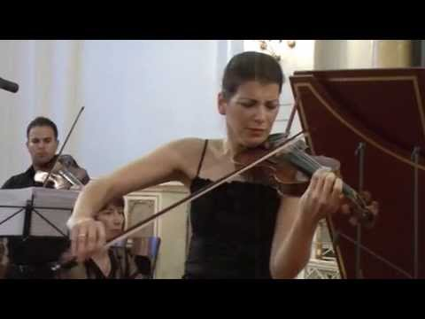 Bach Violin Concerto in E major - Marta Abraham - 2.Adagio (2/3)