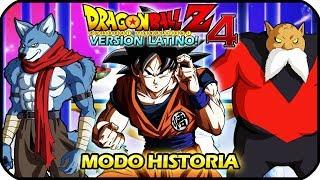 DRAGON BALL Z BUDOKAI TENKAICHI 4 LATINO MODO HISTORIA GOKU VS BERGAMO Y TOPPO
