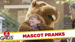 Best Mascot Pranks -  Best of Just For Laughs Pranks