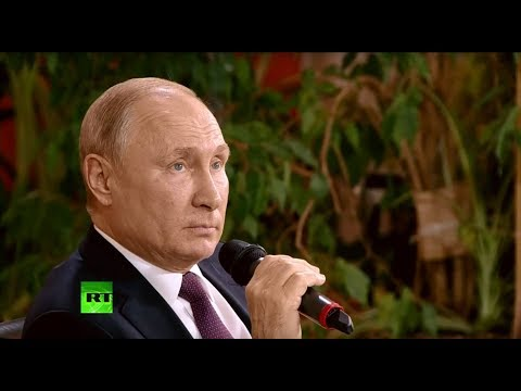 Putin meets with members of the public during Crimean reunification anniversary in Simferopol