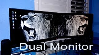 how to make a dual monitor wallpaper hd
