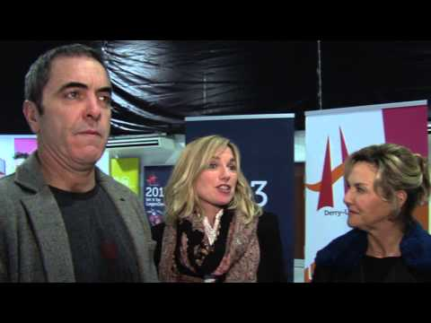 James Nesbitt, Eva Birthistle & Amanda Burton