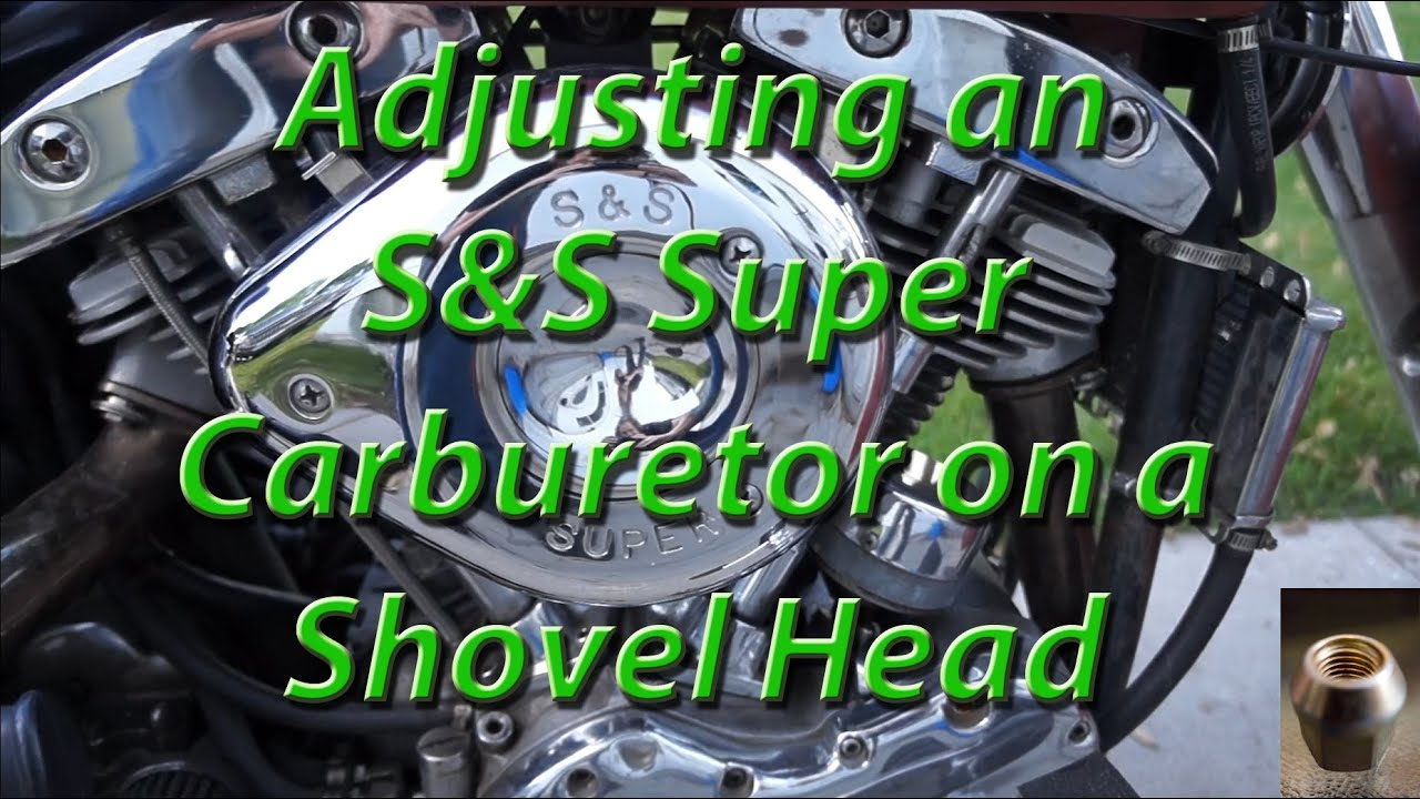 Adjusting an S&S Super Carburetor on a Shovel Head