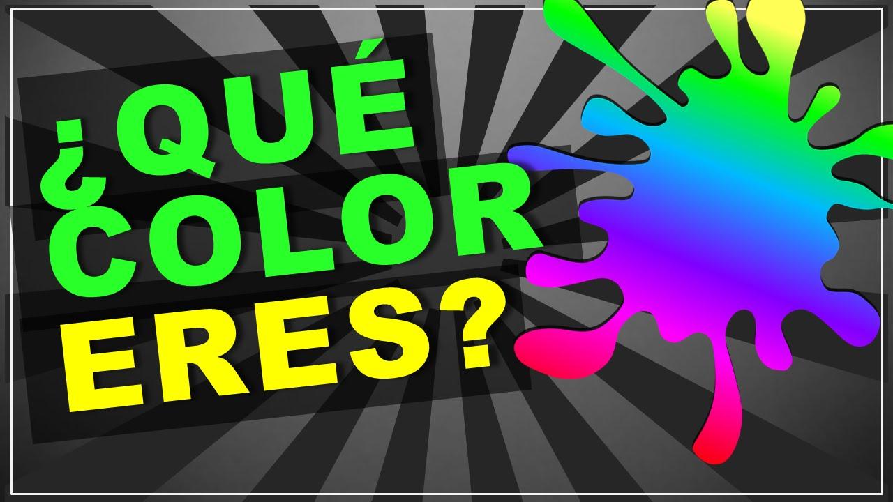 Test de PERSONALIDAD: ¿Qué color te representa? (psicologia) - YouTube