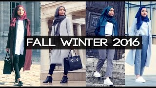 Download FALL WINTER LOOKBOOK : 4 OUTFITS (HIJABI) Mp3 and Videos