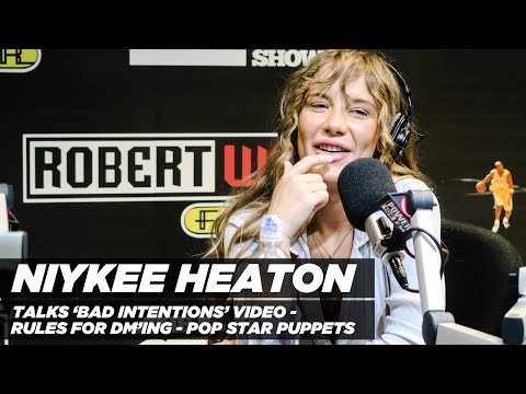 Niykee Heaton   'Bad Intention' Video, Pop Star Puppets, Rules of DM'ing, And More!