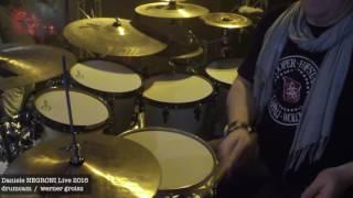 drumcam Daniele NEGRONI - drums Werner Groisz