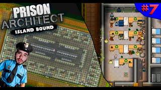 RECICLAGEM PARA UMA PRISÃO CONSCIENTE E NOVO BLOCO  ? - PRISON ARCHITECT #7 - (Gameplay/PC/PTBR) HD