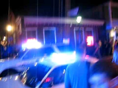 bourbon street getting shut down MUST SEE!!!