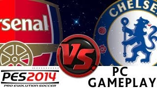 [TTB] PES 2014 - Arsenal Vs Chelsea - Ep6 - Superstar Difficulty - PC Gameplay