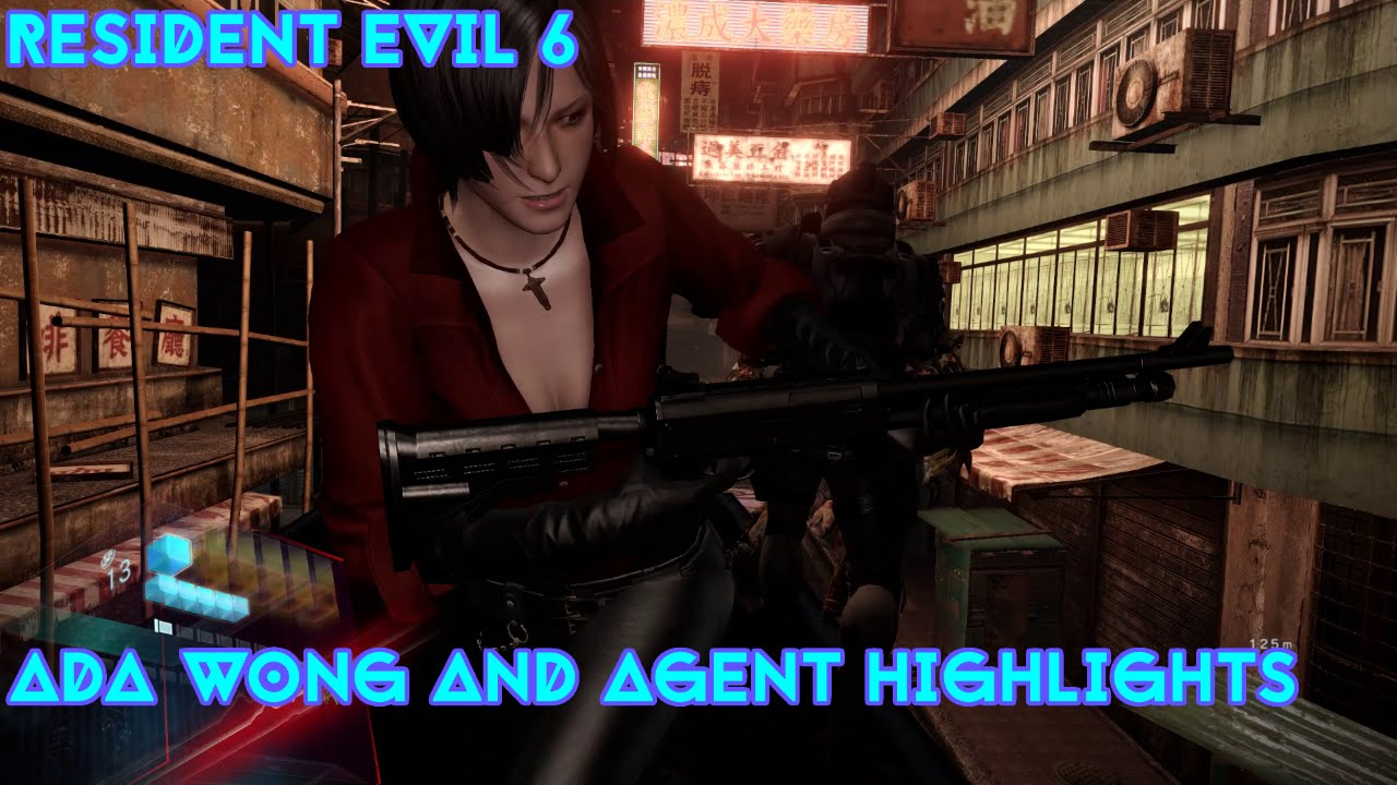 Best Of Resident Evil 6 Ada Wong And Agent Grunt Highlights Youtube