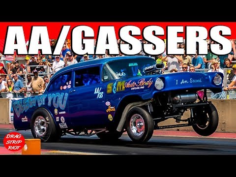 Ohio Outlaw AA/Gassers Compilation Straight Axle Willys Backup Girls Nostalgia Drag Racing Videos