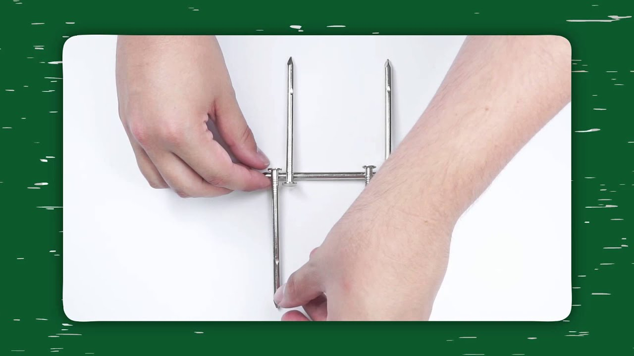 Puzzle Academy - Box Of Nails - Bed of Nails Solution - YouTube