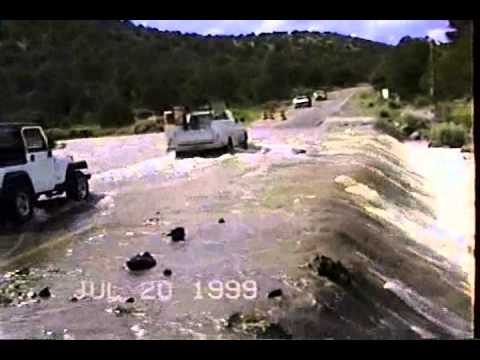 MIMBRES NEW MEXICO FLOODS IN 1999