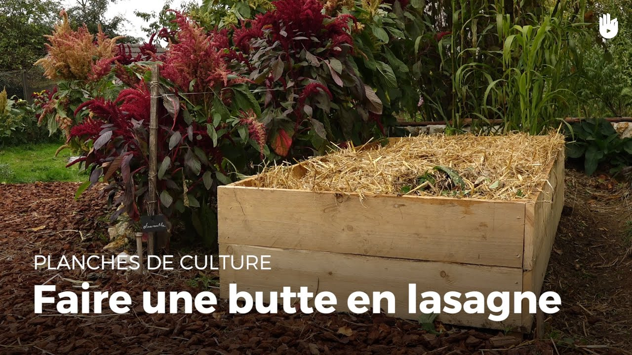 Bien connu Faire une butte en lasagne - YouTube ON96