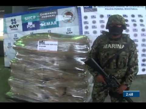 Asegura Semar semillas de opio en el puerto de Veracruz