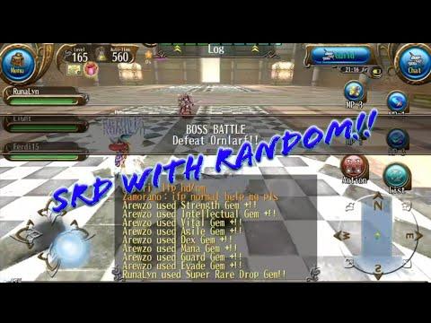 Runalyn Giving SRD to Random Person at Ornlarf!  - Toram Online