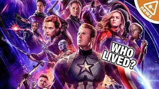 New Endgame Posters Confirm Who Dusted in Infinity War! (Nerdist News w/ Jessica Chobot)