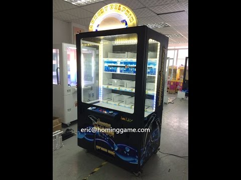 2016 Hot Sale New Prize Luxury Dolphin Game Machine (eric@hominggame.com)