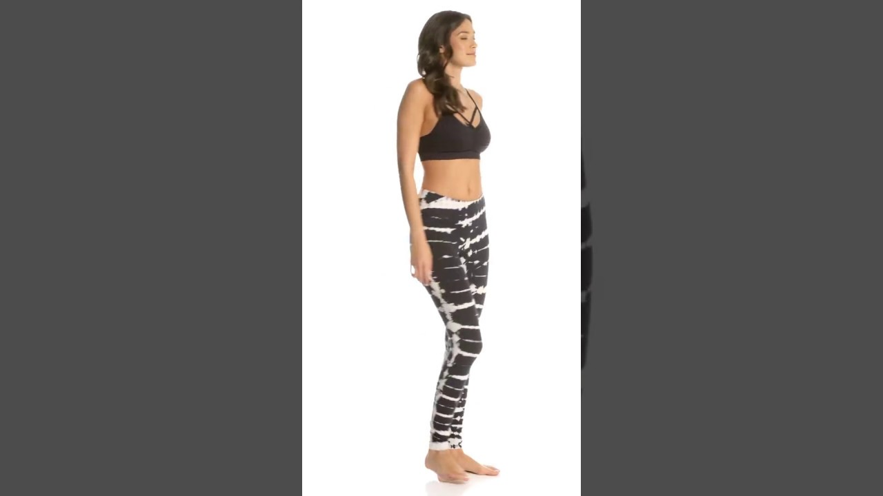 c842018072f8c Pink Lotus Movement All Tyed Up Tye Dye Yoga Leggings | SwimOutlet.com