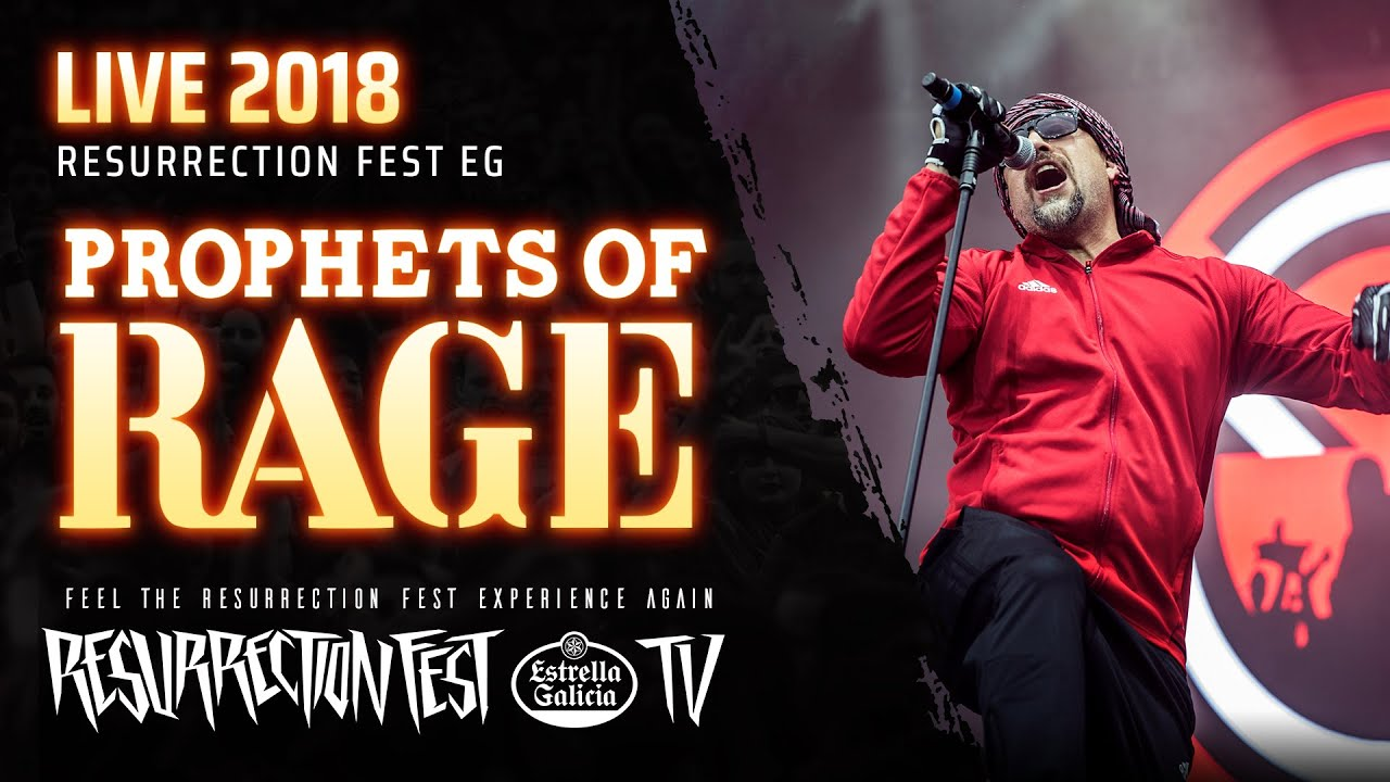 Prophets of Rage - Prophets of Rage & Testify & Take The Power Back (Live  at Resurrection Fest 2018)