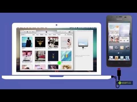 How Transfer All Music from iTunes to Huawei Android Phone on Mac ?