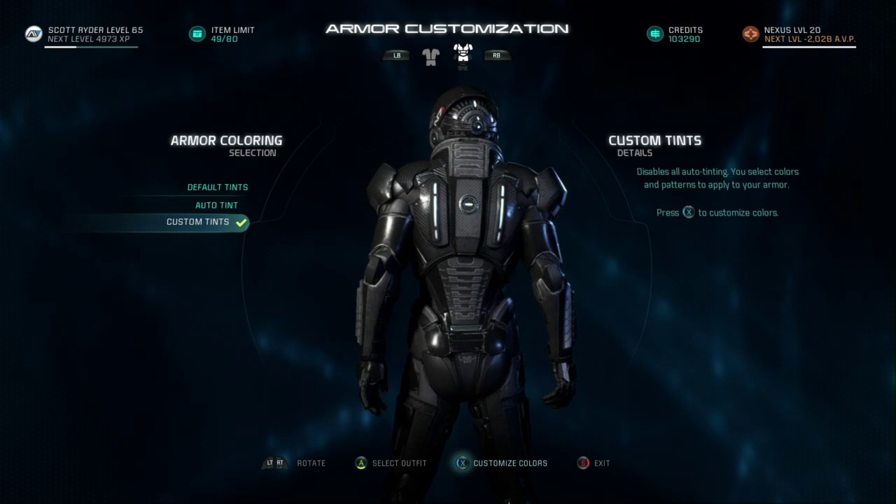 Mass Effect Andromeda Commander Shepard S N7 Armor Youtube