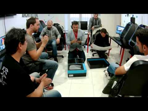 HTC Vive Unboxing en Español en la escuela de Realidad Virtual VR-EVO