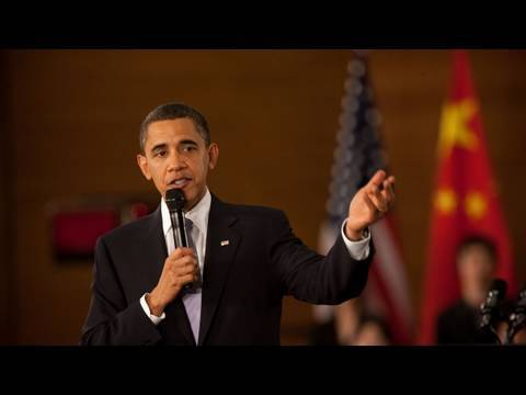 President Obama Holds Town Hall with Chinese Youth | 提供中文字幕
