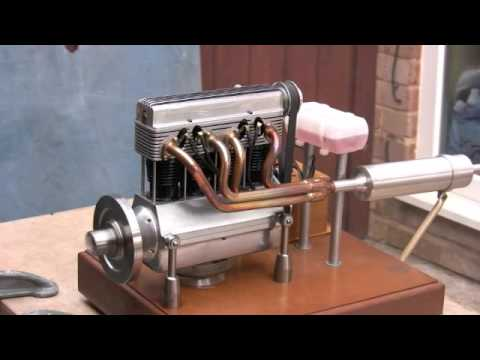 model 4 cylinder engine youtube