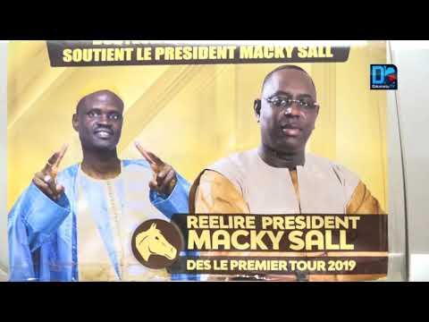 Arrivée du président Macky Sall à kaolack: La forte mobilisation du Dr Macoumba Diouf
