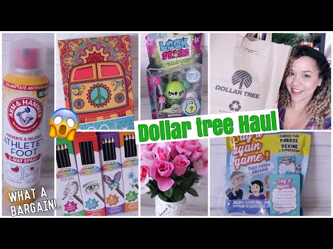 DOLLAR TREE HAUL June 2019 New Finds