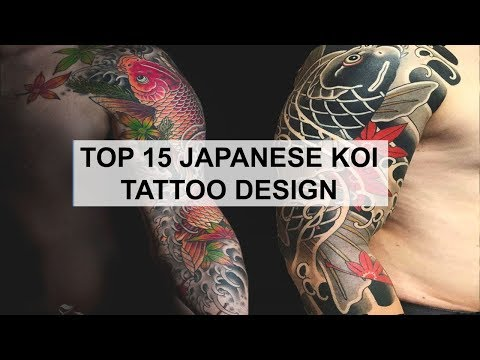 Tattoo Ideas - 15 Japanese Koi Fish Tattoo Design