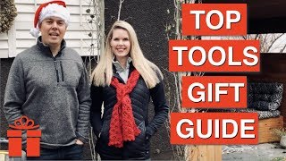 Top 6 Gift Ideas for Tool Lovers ~ Holiday Shopping Guide 2019