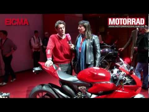 Neu: Ducati 1199 Panigale (Interview Eicma 2011)