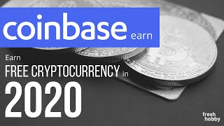 Coinbase Earn: Earn FREE Money While Learning About Cryptocurrencies...