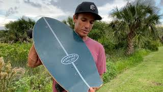Introducing The Cory Lopez Twisted Fin By Hamboards