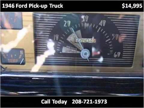 1946 ford pick up truck used cars hailey id youtube. Black Bedroom Furniture Sets. Home Design Ideas