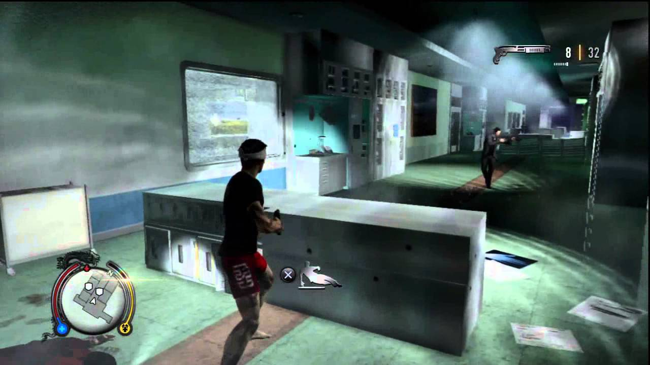Sleeping Dogs Intensive Care Hospital 18k Shootout Security Room Hack Hd Gameplay Ps3 Youtube
