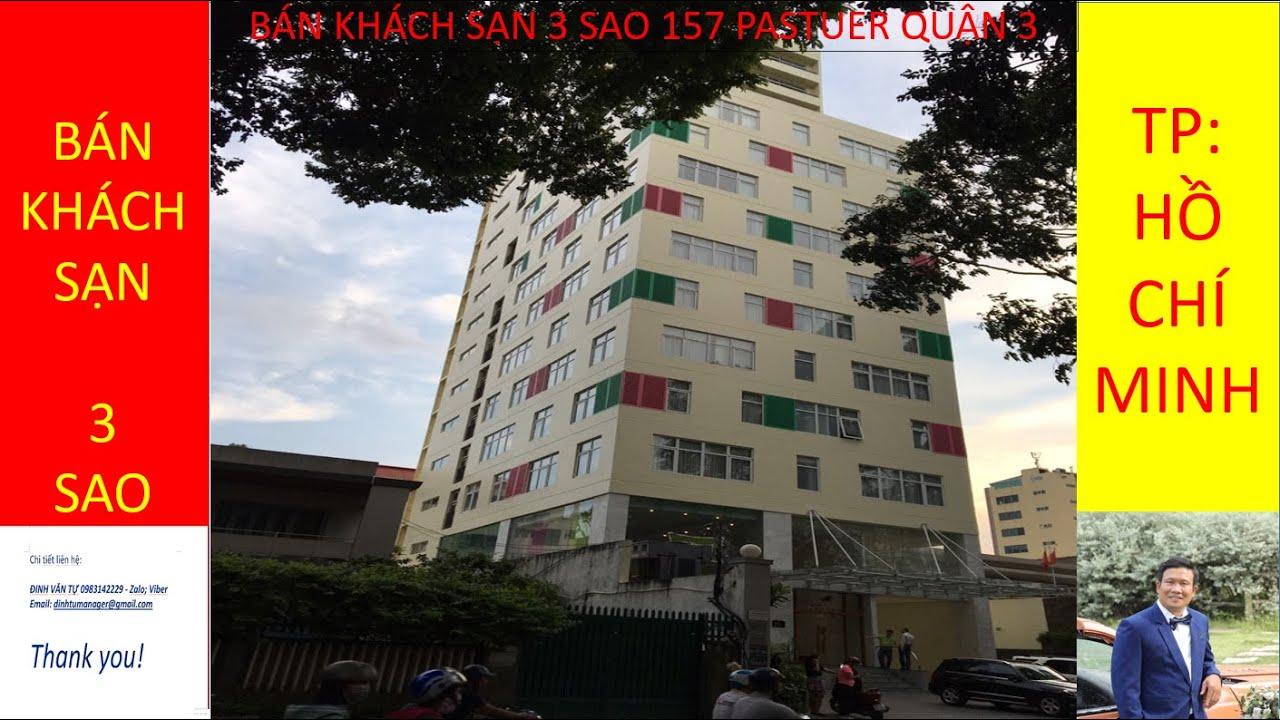 Bán khách sạn 157 Pasteur phường 6 quận 3 tp HCM