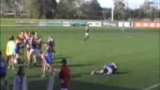 BEST FOOTY FIGHT EVER - ALL IN BRAWL